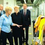 D. Grybauskaitė: Tauragės pavyzdys rodo, kad emigrantai nori grįžti į Lietuvą